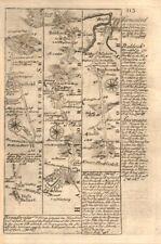 High barnet-hatfield-stevenage-baldock - Biggleswade owen/bowen road map 1753