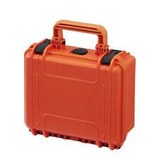 Waterproof Water Tight Camera Tool Gear Hard Case Box MAX235H105 w/ Foam Hi-Vis