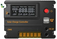 20A 12V/24V Back Lit LCD Solar Charge Intelligent Battery Controller Regulator