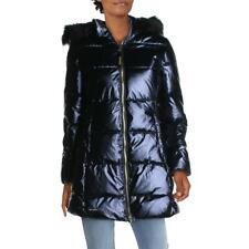 Juicy Couture Black Label Feminino Roxo acolchoada Casaco outerwear Xs 5785 BHFO