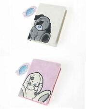 My Blue Nose Friends TWO Passport Covers Patch the Dog & Blossom the Rabbit