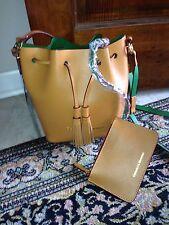 NEW Dooney & Bourke Montecito Serena Crossbody Butterscotch Bucket Bag NWT $298