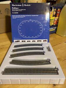 blackstone models proTraxx narrow gauge track starter set HOn3 snap track System