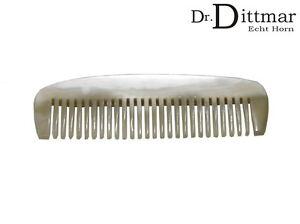 Dr.Dittmar Beard Comb Small Real Horn Mustache Beard Handmade Germany