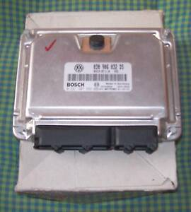 Neu! Steuergerät VW Polo  1.4  AKK  44KW/60PS  030906032DS 22.05.2001 0261207592