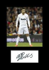 CRISTIANO RONALDO #4 Signed Photo Print A5 Mounted Photo Print - FREE DELIVERY