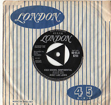 "Jerry Lee Lewis - High School Confidential 7"" Sgl 1958"