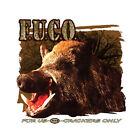 F.U.C.O. For Us Crackers Only boar hog hunting t shirt apparel redneck feral