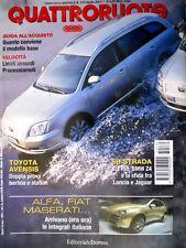 Quattroruote 570 2003 Alfa, Fiat, Maserati ecco le integrali italiane. Kia [Q80]