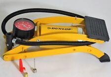 Dunlop Fußpumpe Fahrradpumpe Luftpumpe Autopumpe Standpumpe Max.8 Bar Pumpe NEU