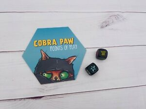 Bananagrams Cobra Paw Points of Play Replacement game pieces Rules, Dice S