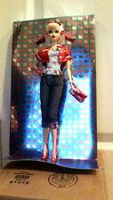 NEW Mattel Barbie Hello Kitty Doll 2008 Pink Label Collector Sanrio