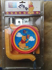 "WINNIE THE POOH WALT DISNEY CHILDRENS STABILIZERS RRP £20 SUIT WHEEL 12"" TO 16"""