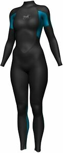 CRYSTAL Steamer 3/2mm Superstretch Wetsuit Womens Surfing Diving Wet Suit Adults