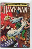 Hawkman #13 FN-  Quest Of The Immortal Queen   DC Comics  SA