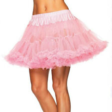 Layered Satin Striped Tulle Petticoat Adult Womens Fancy Dress Costume Accessory