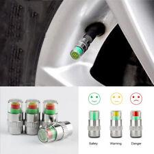 4 x Auto Tire Pressure Monitor Valve Stems Caps 36 PSI Sensor Indicator 3 Color