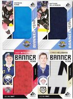 18-19 SP Game Used Patrick Kane Banner Year 18 All-Star Blackhawks 2018