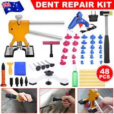 Car Dent Puller Remover Kit Tools Paintless Slide Hammer Tap Repair Glue
