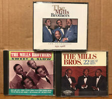The Mills Brothers 4 cd The Anthology 1931-1968/Sweet and Slow/22 Great Hits