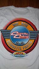 Chevy Corvette Central CorvetteParts.com (We are Corvette Parts) T-Shirt Large