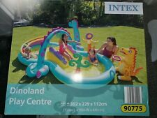 intex dinoland play centre pool
