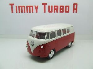 WELLY VW VOLKSWAGEN T1 SPLIT SCREEN CAMPER BUS 1962 FOR CODE 3 115 MM LONG A