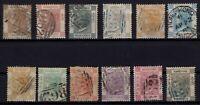 G140027/ HONG KONG / BRITISH COLONY / LOT 1863 - 1871 USED – CV 395 $