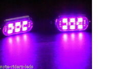 PINK 5050 SMD LED PODS 4 PODS  6 LEDS ON EACH POD FITS CARS TRUCKS MOTORCYCLES
