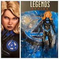 INVISIBLE WOMAN Marvel Legends Sue Storm Fantastic Four 4 - No Super Skrull BAF