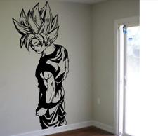 Super Saiyan Goku Wall Sticker Decal Vinyl Dragon Ball Decor Wall Stickers Art
