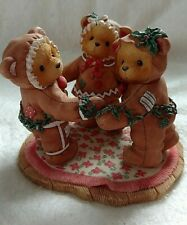 """Cherished Teddies Sugar & Spice Missy, Cookie and Riley """"A Special Recipe For"""