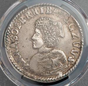 1676, Quedlinburg (Abbey), Anna Sophia II. Rare Silver 2/3 Thaler Coin. PCGS XF+