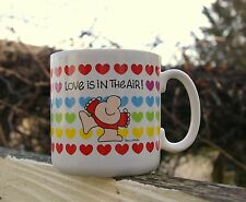 Ziggy Valentine's Day Coffee Mug Love Is In The Air! Tom Wilson 1984 Cup Hearts