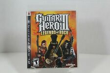 Guitar Hero III: Legends of Rock - PS3 - 2007 - CIB With Stickers - USED