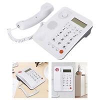 Desktop Corded Landline Telephone Speakerphone Caller ID Fixed Phone Home Office