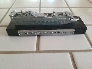Rare Grand Princess Cruise Ship Model 1998 Inagural - Princess Cruises