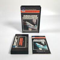 SUBMARINE COMMANDER Game - Commodore VIC-20 - COMPLETE & BOXED