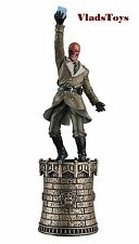 Eaglemoss Marvel Chess Collection Red Skull Chess Piece #7 w/ Mag Black King