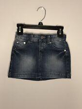 Benetton Jeans - Toddler Girl's Blue Denim Jean Skirt XS 4-5 Years Old NWT