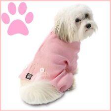"""Petrageous Pink Thermal Long John Style Dog Pajamas  """" FREE TOY""""  S/M"""