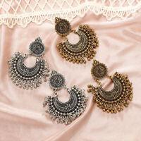 Metal Tassel Jhumka Indian Ethnic Bollywood Dangle Earrings Fashion Jewelry