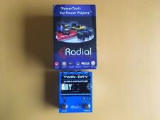 New Radial Twin City Bones ABY Amp Switcher Pedal