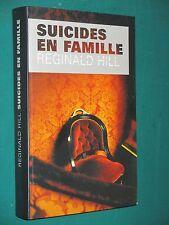 Suicides en famille Reginald HILL