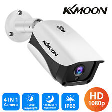 KKMOON 1080P AHD Bullet Camera Outdoor Home Security CCTV IR-CUT Night Vision
