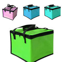Portable Insulated Thermal Cooler Bag Lunch Time Sandwich Drink Cool Storage Bag