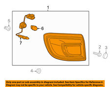 Buick GM OEM 13-17 Enclave-Tail Light Assembly Right 23507296