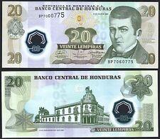 HONDURAS P95***20 LEMPIRAS POLYMER ***ND 2008***UNC GEM***LOOK SUPER SCAN