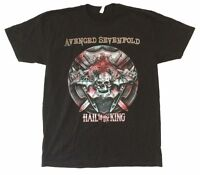 Avenged Sevenfold Battle Armor Hail To The King Black T Shirt New Official A7X