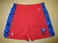 Authentic Detroit Pistons Reebok Basketball Shorts Jersey 36 SEWN